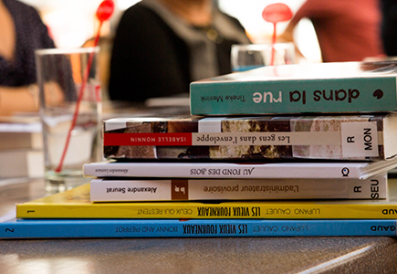 Café-lecture – Boîte à lire