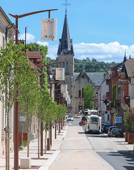 Cusset distinguée «Villes et villages où il fait bon vivre»