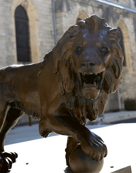 Les lions de Cusset reprennent place en centre-ville