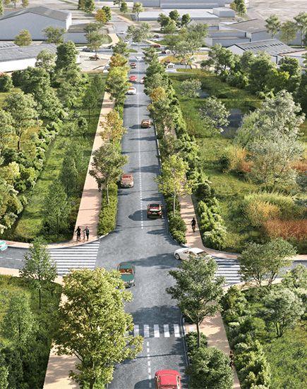 Boulevard urbain T3 : nouvelle tranche de Cusset à Creuzier-le-Vieux