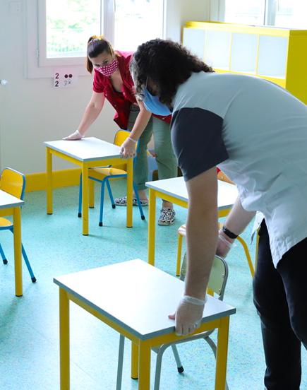 Les écoles cussétoises se préparent à la rentrée