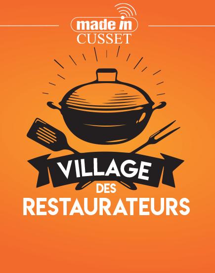 Un village des restaurateurs à Cusset